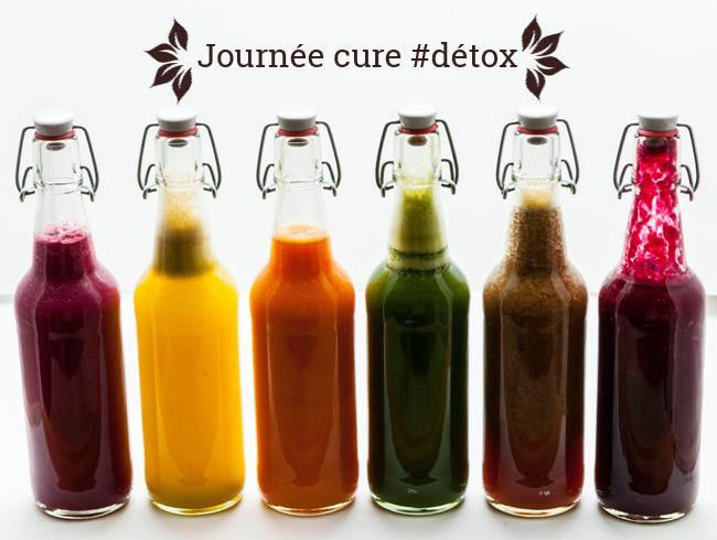 jus detox recette