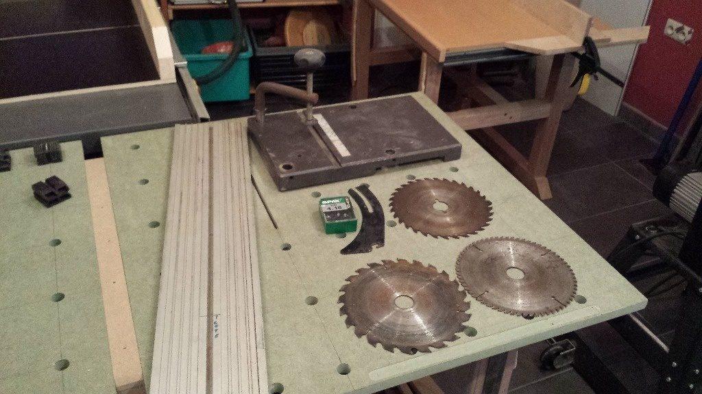 scie circulaire de table