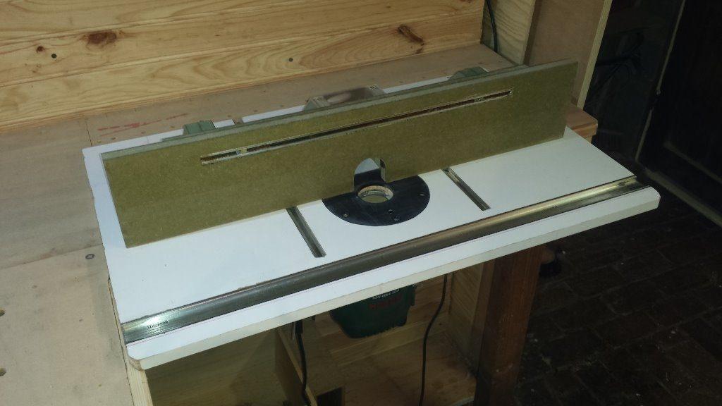 fabriquer une table de defonceuse