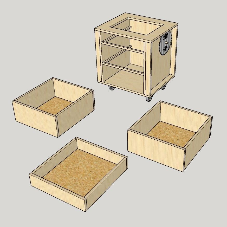 plan de meuble en palette