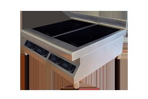 wok sur plaque induction