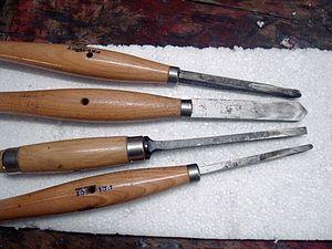 outils pour tournage du bois