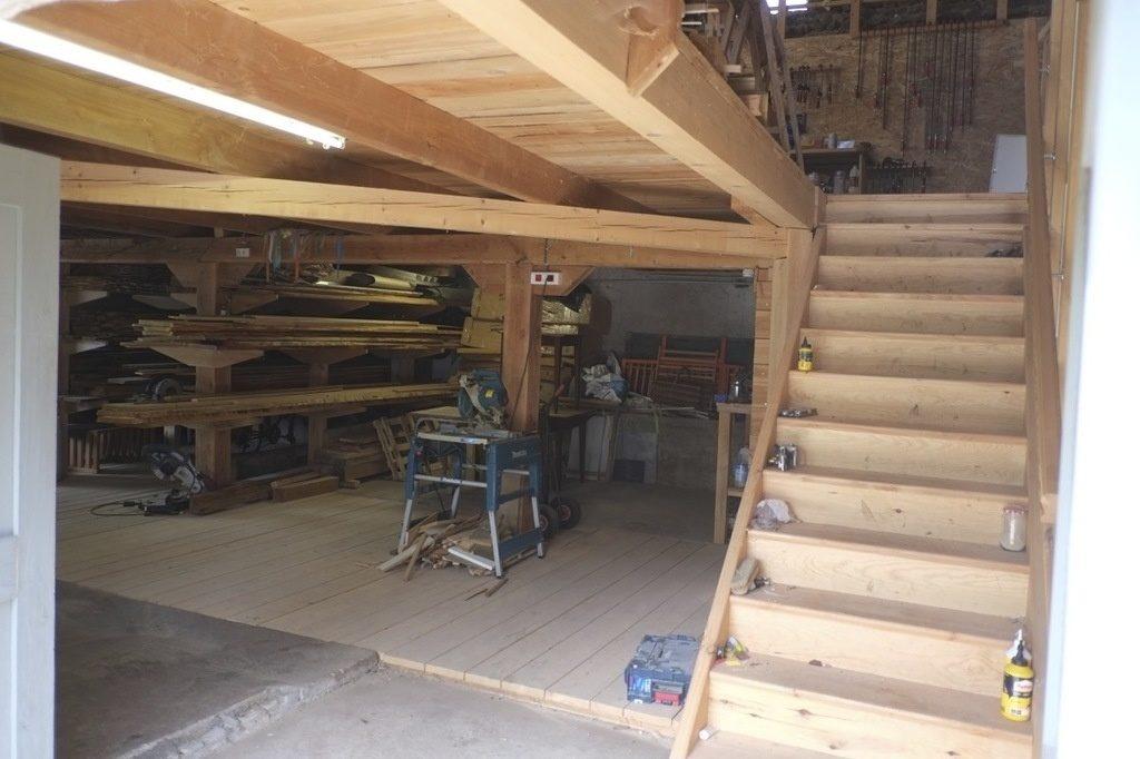 aspiration de copeaux de bois